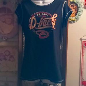 Cute Arizona Diamond Backs Baseball T-shirt